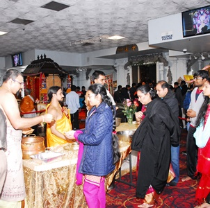 Thousands attend Navodaya celebrations during Hindu Temple of Atlanta's 25th year