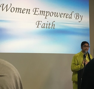 Young women empowered by faith: a display of diversity, similarities, and affection