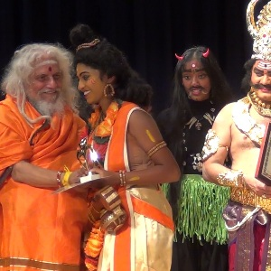 Sri Viswayogi Viswamjee Maharaj graces MahaLakshmi Homam and Dance-Drama