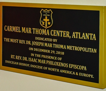 The Carmel Mar Thoma Center Dedication