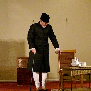 Fascinating Bollywood actor Tom Alter portrays Maulana Azad in Atlanta
