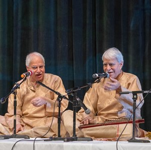 """Bhairav se Bhairavi tak,"" a concert of ragas by the Misra brothers"