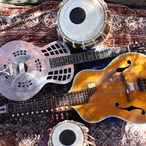 Music:  A Magical Mix of Indian Traditional, Canadian Blues, and American Roots