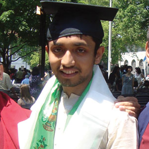 Shreyas Sreenath receives Fulbright Study Grant
