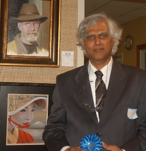 Sivananda Nyayapathi wins Portrait Society of America award