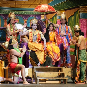 Syam Yellamraju presents the timeless Ramayana