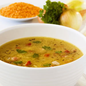 Three Ethnic Soups for Cooler Days
