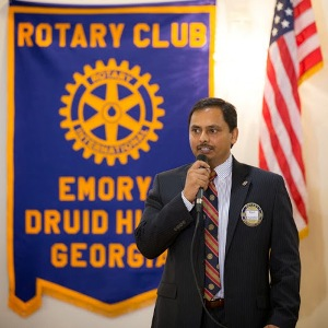 Rotary Club of Emory Druid Hills celebrates birthday of Rotary International