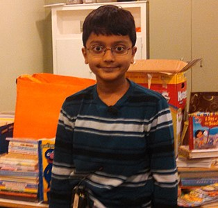 DeKalb fifth-grader collects books for migrant children