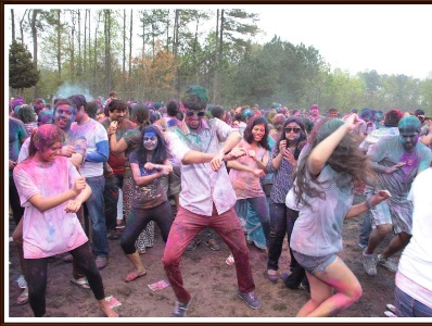 Sewa Holi, the largest color festival of Georgia