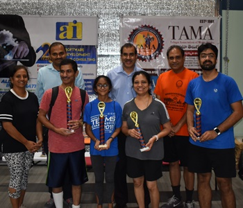 All-day sportsmanship at TAMA table tennis tournament