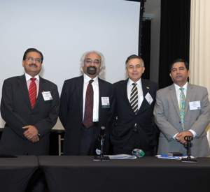 Sam Pitroda keynotes U.S.-India business summit