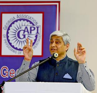 Three inspirational evenings with diplomat and author Vikas Swarup