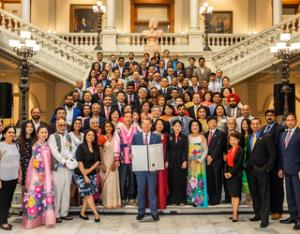 Asian American Heritage Month celebration at the State Capitol