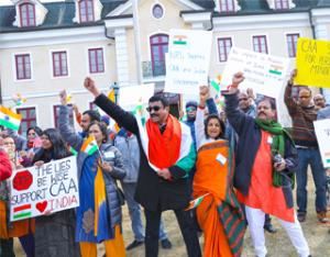 Rallies in protest—and support—of India's Citizenship Amendment Act (CAA)
