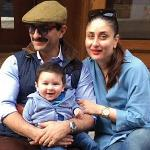 Taimur Ali Khan on Swiss vacation with dad Saif and mom Kareena