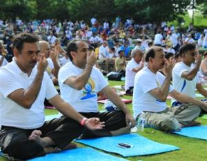 Atlanta celebrates First International Day of Yoga with success