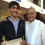 Shashank and Shruthi bring home five awards from 'Cleveland Aradhana'