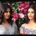 Priyanka, Aishwarya bond at Ambani wedding!