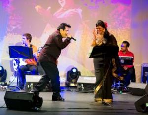 """Yahoo! Shammi Kapoor Night / Tribute to Mohammed Rafi"" raised funds for the Georgia Blind Sports Association"