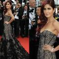 Katrina makes stunning debut at Cannes