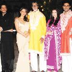 Diwali dhamaka at Big B's, Aamir's bashes