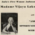 Madame Pandit Lecture on Trade Opportunities