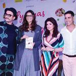 Twinkle Khanna's third book launch a glitzy affair