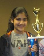 Kaiya Patel on recordbreaking Academic Team