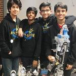 Team Atlantis shines at its first robotics tournament