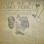 "We were once ""Dusky Peril"" in America!"