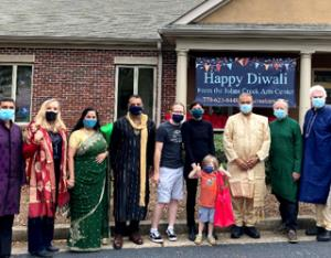 Johns Creek Art Center hosts a drive-up family Diwali event