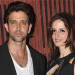 Sussanne moves in temporarily with former husband Hrithik