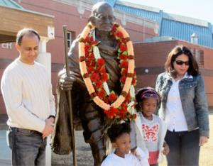 Gandhi Foundation notes debt of immigrants and minorities to Dr. King