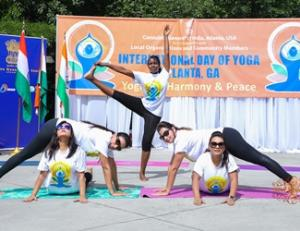 5th International Day of Yoga—an educational and fun experience